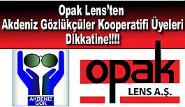 Opak Lens'ten Akdeniz Gözlükçüler...