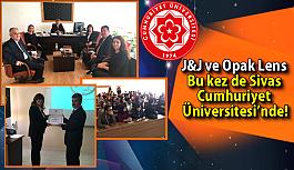 Johnson & Johnson  ve Opak Lens Bu kez de Sivas Cumhuriyet Üniversitesi'nde!