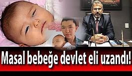 Masal bebeğe devlet eli uzandı!