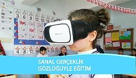 Çorum'da Sanal Gerçeklik Gözlüğüyle Eğitim Verildi