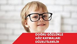 Doğru Gözlükle Göz Kaymaları Düzeltilebilir