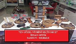 """""""En Güzel Vitrini Seçiyoruz"""" Yarışması: İhsan Optik-Samsun/Merkez"""