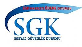 SGK'nın 2017 Ekim Ayı Reçete Bedelleri Ödeme Duyurusu