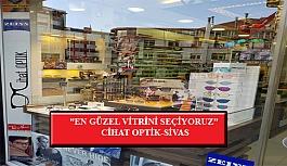 """En Güzel Vitrini Seçiyoruz"""" Yarışması: Cihat Optik- Sivas"""