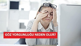 Göz Yorgunluğu Neden Olur?