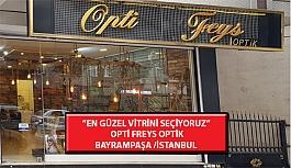 """""""En Güzel Vitrini Seçiyoruz"""" Yarışması: Opti Freys Optik- Bayrampaşa/İstanbul"""