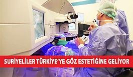 Suriyeliler Türkiye'ye Göz Estetiğine...