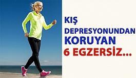 Kış Depresyonundan Koruyan 6 Egzersiz…