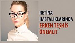 Retina Hastalıklarında Erken Teşhis Önemli!