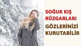 Soğuk Kış Rüzgarları Gözlerinizi Kurutabilir