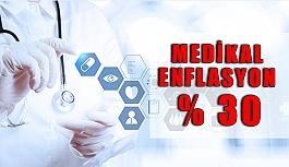 2018'de Medikal Enflasyon Yüzde 30 Düzeylerinde...