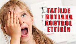 Göz Hastalıkları Çocukların Okuldaki...