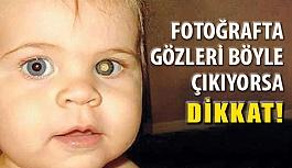 Fotoğraflarda Çocukların Göz Bebeğine...