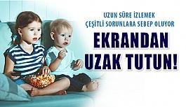 Uzun Süre Televizyon Seyretmek Çocuklarda...