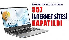 İlaç Satışı Yapan 557 İnternet Sitesi...