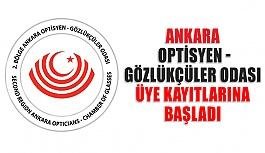 Ankara Optisyen - Gözlükçüler Odası...
