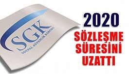 Sgk 2020 Sözleşme Süresini Ocak Sonuna...