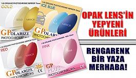 Opak Lens'in Yepyeni Ürünleriyle Rengarenk...