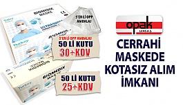 Opak Lens'ten Ultrasonic Cerrahi Maskede...