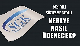 2021 Yılı SGK Optik Sözleşme Ücreti...