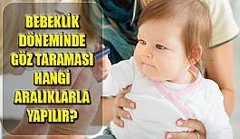 Bebeklik Döneminde Göz Taraması Hangi...