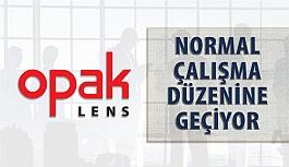 Opak Lens Normal Çalışma Düzenine Dönüyor
