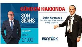 Ergün Karaçanak Ekotürk Televizyonu'nda...
