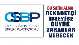 Optik Sektörü Birlik Platformu Satın...