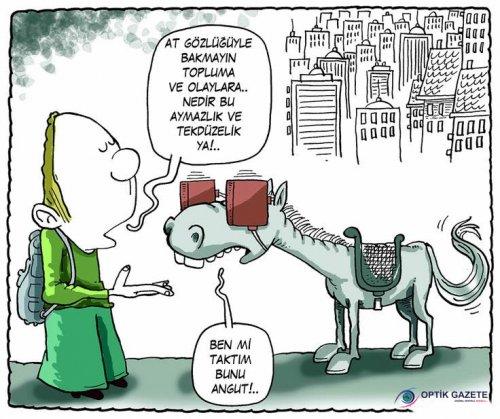 At Gözlükleri ile Bakmak :))
