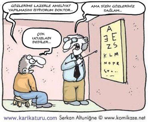 Lazer Göz Ameliyatları Hakkında Bilgi Bu Kadar Maalesef